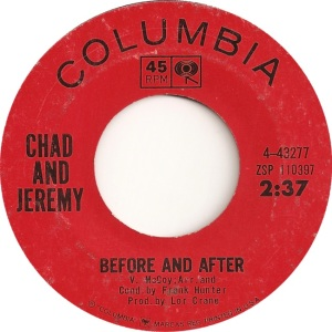 CHAD & JEREMY - BEFORE & AFTER