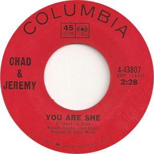 CHAD JEREMY - COL 43807 - A