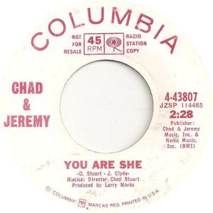 CHAD JEREMY - COL 43807 - DJ