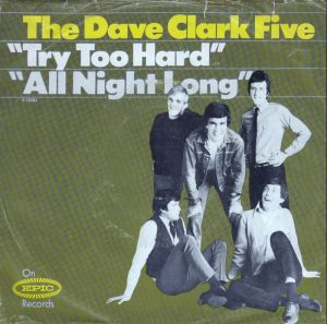 CLARK FIVE - EPIC - TRY TOO HARD PS