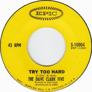 CLARK FIVE - EPIC - TRY TOO HARD