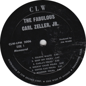 CLW 2006 - Zeller, Carl - LP Side 1