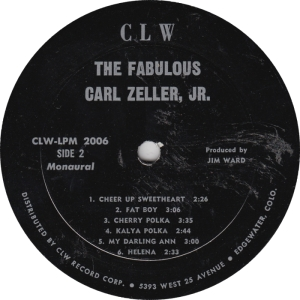CLW 2006 - Zeller, Carl - LP Side 2
