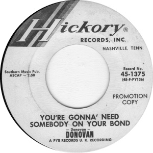 DONOVAN - NEED SOMEBODY DJ