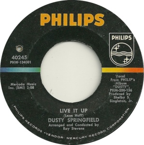 DUSTY - LIVE IT UP