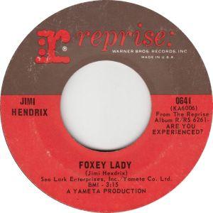 HENDRIX FOXEY LADY