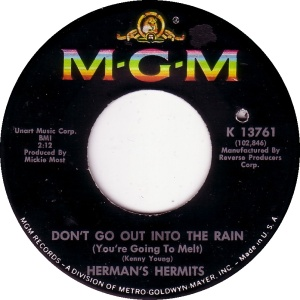 HERMITS - OUT IN RAIN A