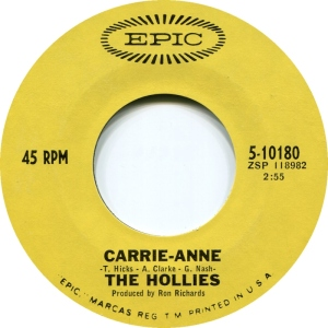 HOLLIES - CARRIE