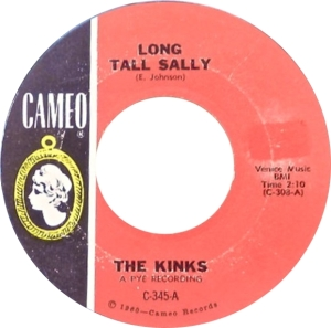 KINKS - LONG TALL SALLY