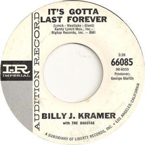 KRAMER - IT'S GOTTA LAST DJ