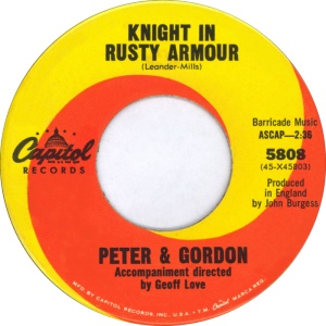 PETER & GORDON - CAP KNIGHT A