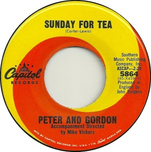 PETER GORDON - SUNDAY