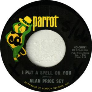 Price Set, Alan - Parrot 3001 - I Put a Spell on You
