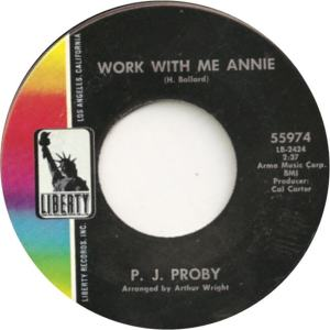 PROBY - ANNIE A