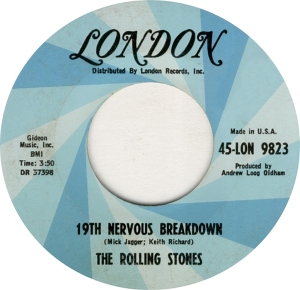 ROLLING STONES - LONDON 9623 - RA