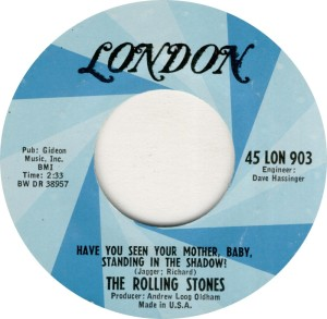 ROLLING STONES - LONDON HAVE YOU A