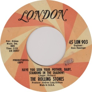 ROLLING STONES - LONDON HAVE YOU DJ