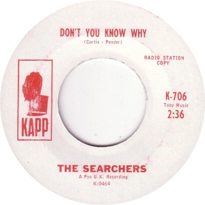 SEARCHERS - DONT YOU KNOW DJ