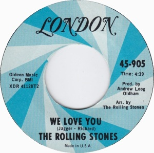 STONES - WE LOVE YOU