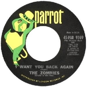 the-zombies-i-want-you-back-again-parrot