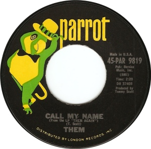 THEM - CALL MY NAME