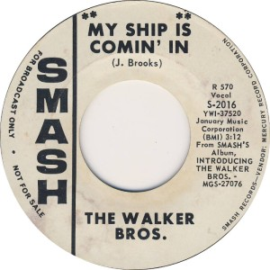 WALKER BROS - SMASH 2016 - RA