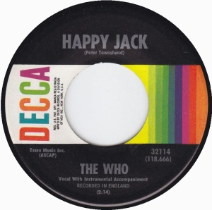 WHO - HAPPY JACK