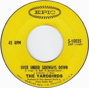 YARDBIRDS - EPIC 10035 A