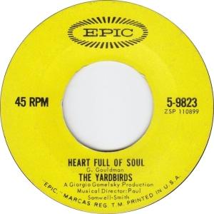 YARDBIRDS - HEART FULL