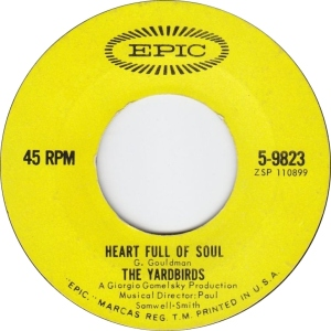YARDBIRDS - HEART FULL