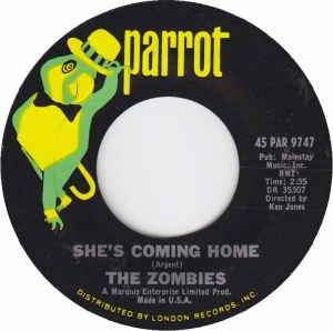 ZOMBIES - SHE'S COMING HOME