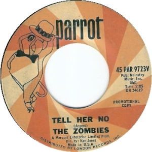ZOMBIES - TELL HER DJ