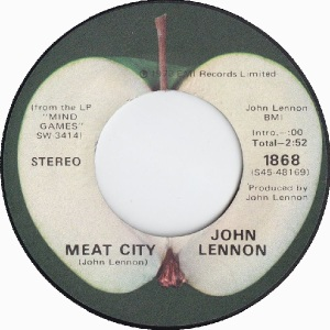 13 Lennon - Oct 31 73 B