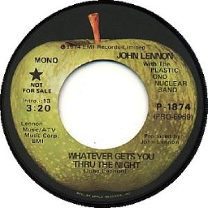 16 Lennon - Sep 16 74 DJ A