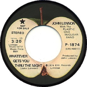 16 Lennon - Sep 16 74 DJ B