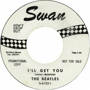 1964 - BEATLES - 45 ILL GET YOU ONE SIDED REPLACE