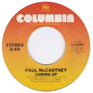 45 mccartney - apr 14 80 - A
