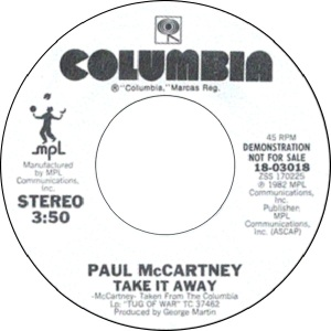 50 mccartney - jul 3 82 - DJ A