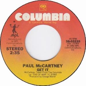 52 mccartney - spe 29 82 B