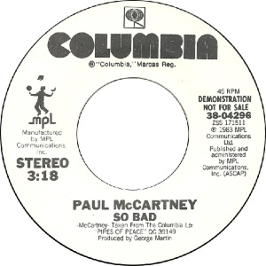 57 mccartney - dec 13 83 - DJ A