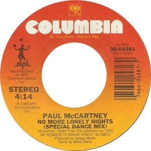 59 mccartney - oct 84 - SP A