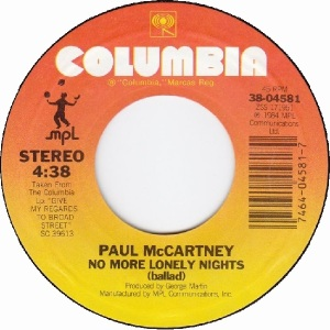 60 mccartney - oct 2 84 - A