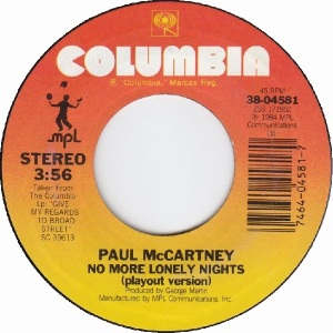 60 mccartney - oct 2 84 - B