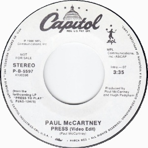 64 mccartney - jul 14 86 - DJ A