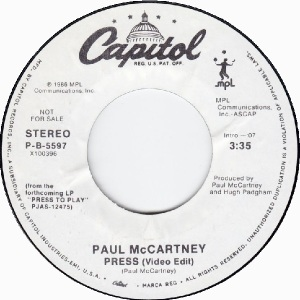 64 mccartney - jul 14 86 - DJ B