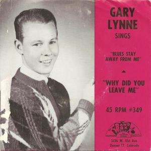 Band Box 349 - Lynne, Gary - Why Did You Leave Me PS