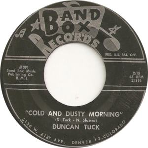 Band Box 391 - Tuck, Duncan - Cold and Dusty Morning