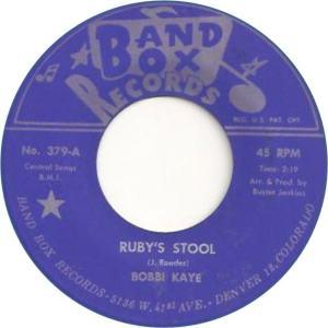 Band Box bobbie Kaye