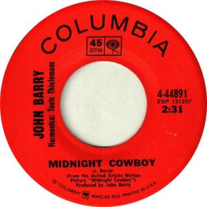 BARRY JOHN - MIDNIGHT COWBOY A