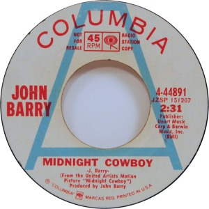 BARRY JOHN - MIDNIGHT COWBOY DJ